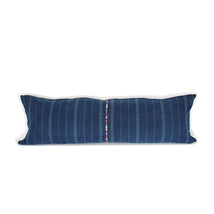 Corte & Embroidery Lumbar Cushion 2