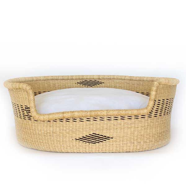 Dog Bed Basket (cushion included) - Large #261