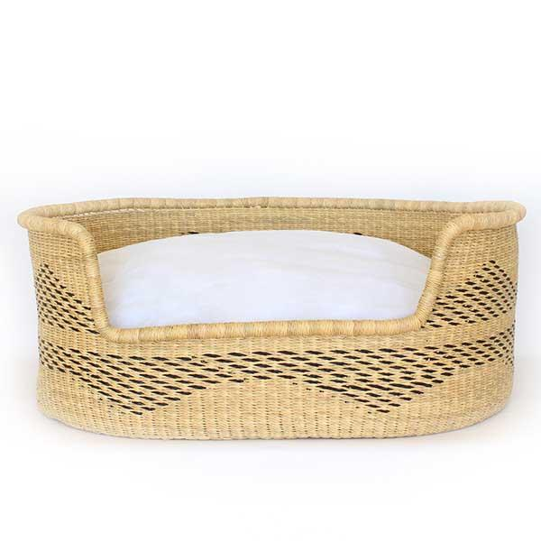 Dog Bed Basket (cushion included) - Large #265