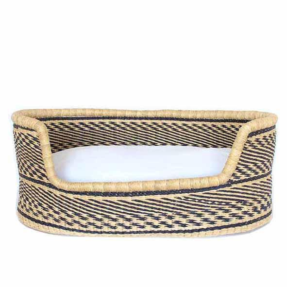 dog bed bolga basket
