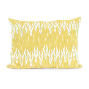 Dog Bed Insert Cover - Yellow Ikat