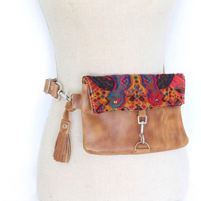 leather fanny pack Australia