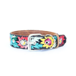 Vintage Embroidered Dog Collar #48