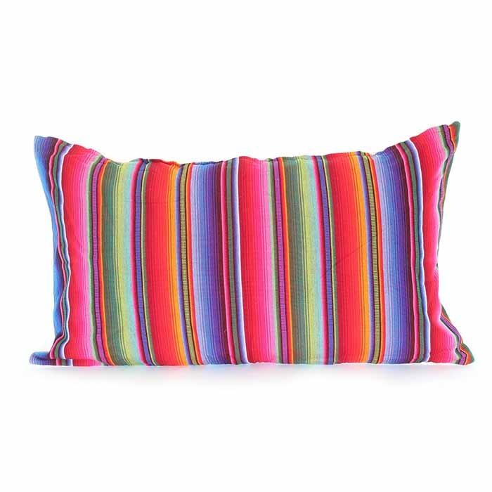 Guatemalan Striped Cushion