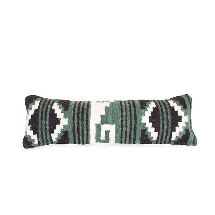Guatemalan Wool Lumbar Cushion 122