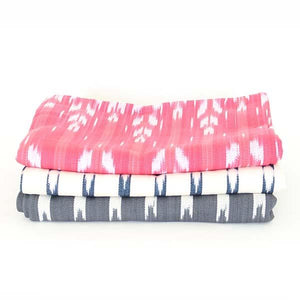 Dog Bed Insert Cover - Cream Ikat