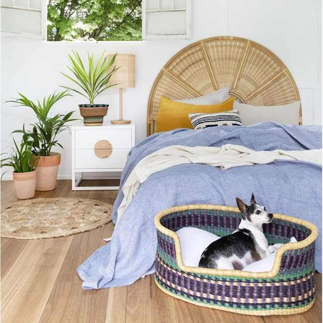 Dog Bed Basket (cushion included) - Medium #10