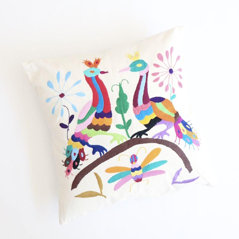 Mexican Otomi Cushion 1