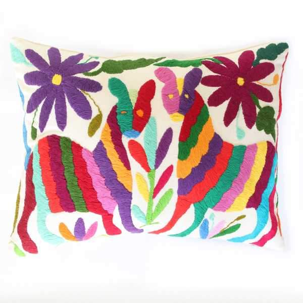Mexican Otomi Cushion 117