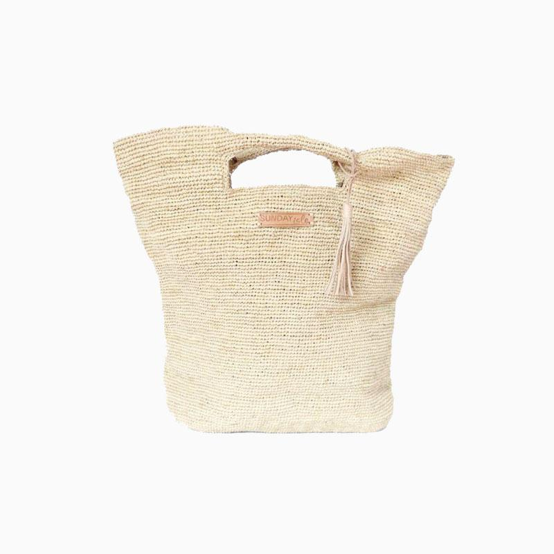 Sunday Isle Palm Beach Tote - Natural