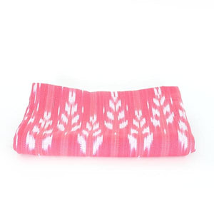 Dog Bed Insert Cover - Pink Ikat