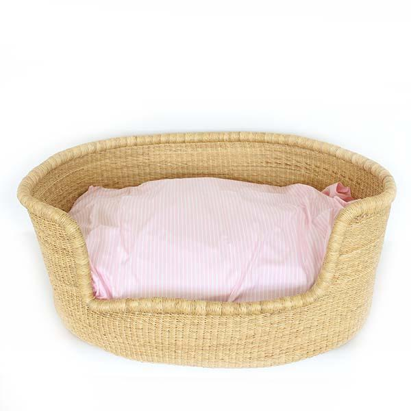 Dog Bed Insert Cover - Pink