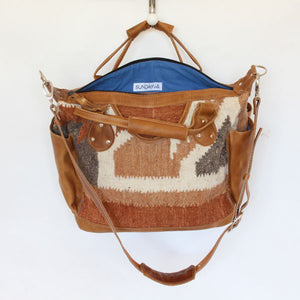 Santa Fe Wool Convertible Carryall 916