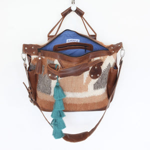 Santa Fe Wool Convertible Carryall 992