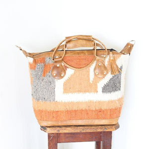 Santa Fe Wool Convertible Carryall 758