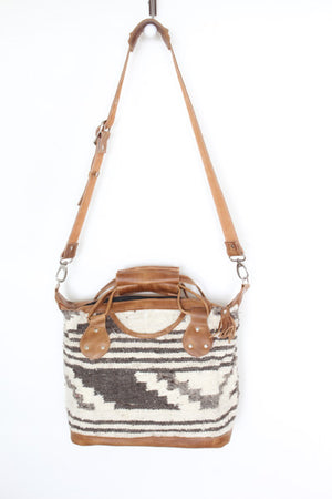 Santa Fe Wool Convertible Bag Medium 1005