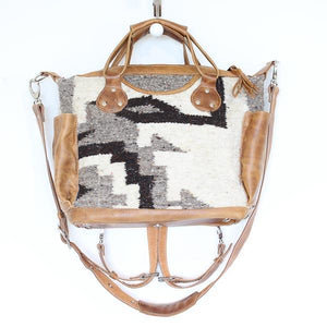 Santa Fe Wool Convertible Bag Medium 768