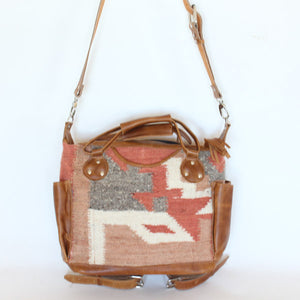 Santa Fe Wool Convertible Bag Medium 925