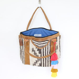 Santa Fe Wool Convertible Tote Bag 750