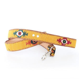 embroidered dog leash