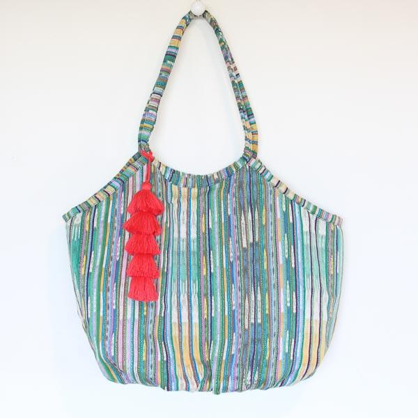 Soleado Beach Bag Ikat 48