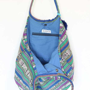 Soleado Beach Bag Ikat 50