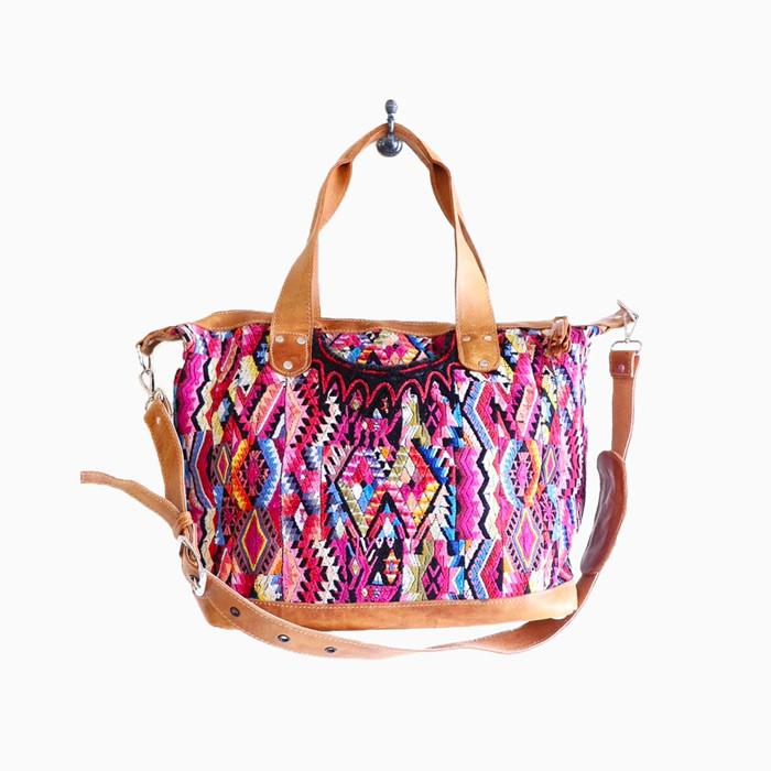 Guatemala convertible weekend bag - sundayisle