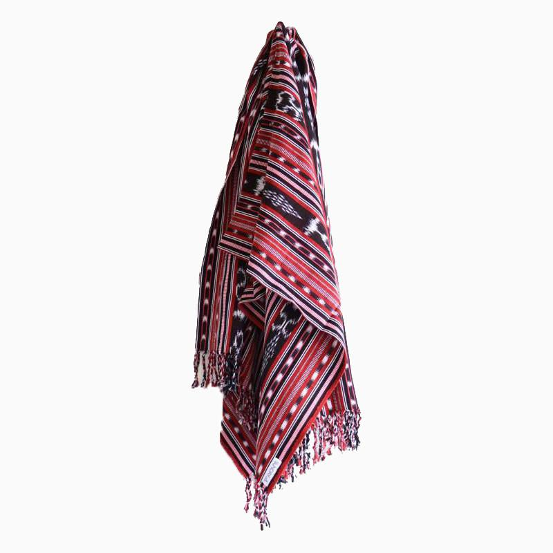 Just Peachy Tassel Throw - sundayisle