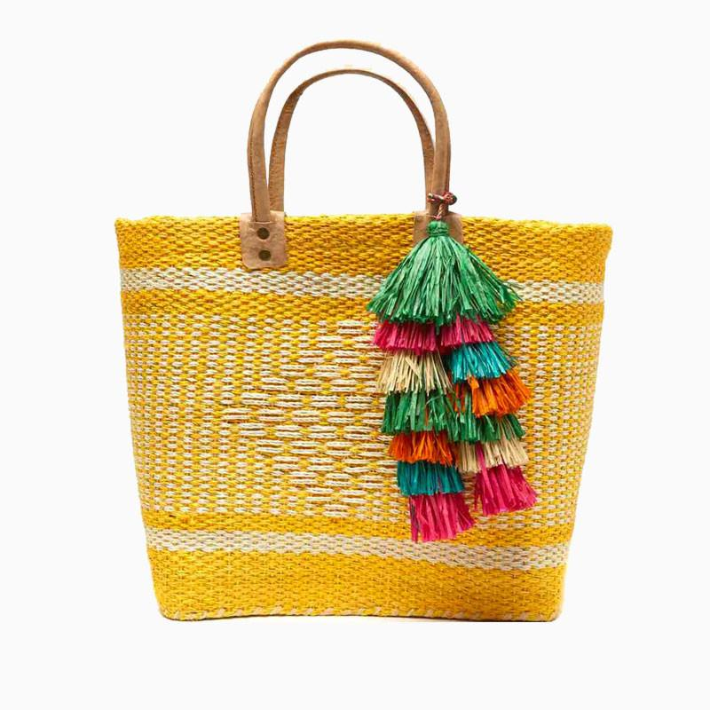 Mar Y Sol Ibiza Tote Sunflower