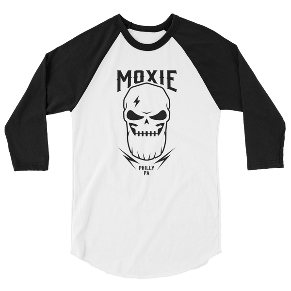 Skull & Beards 3/4 sleeve raglan shirt