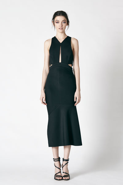 DRIFT DRESS - BLACK