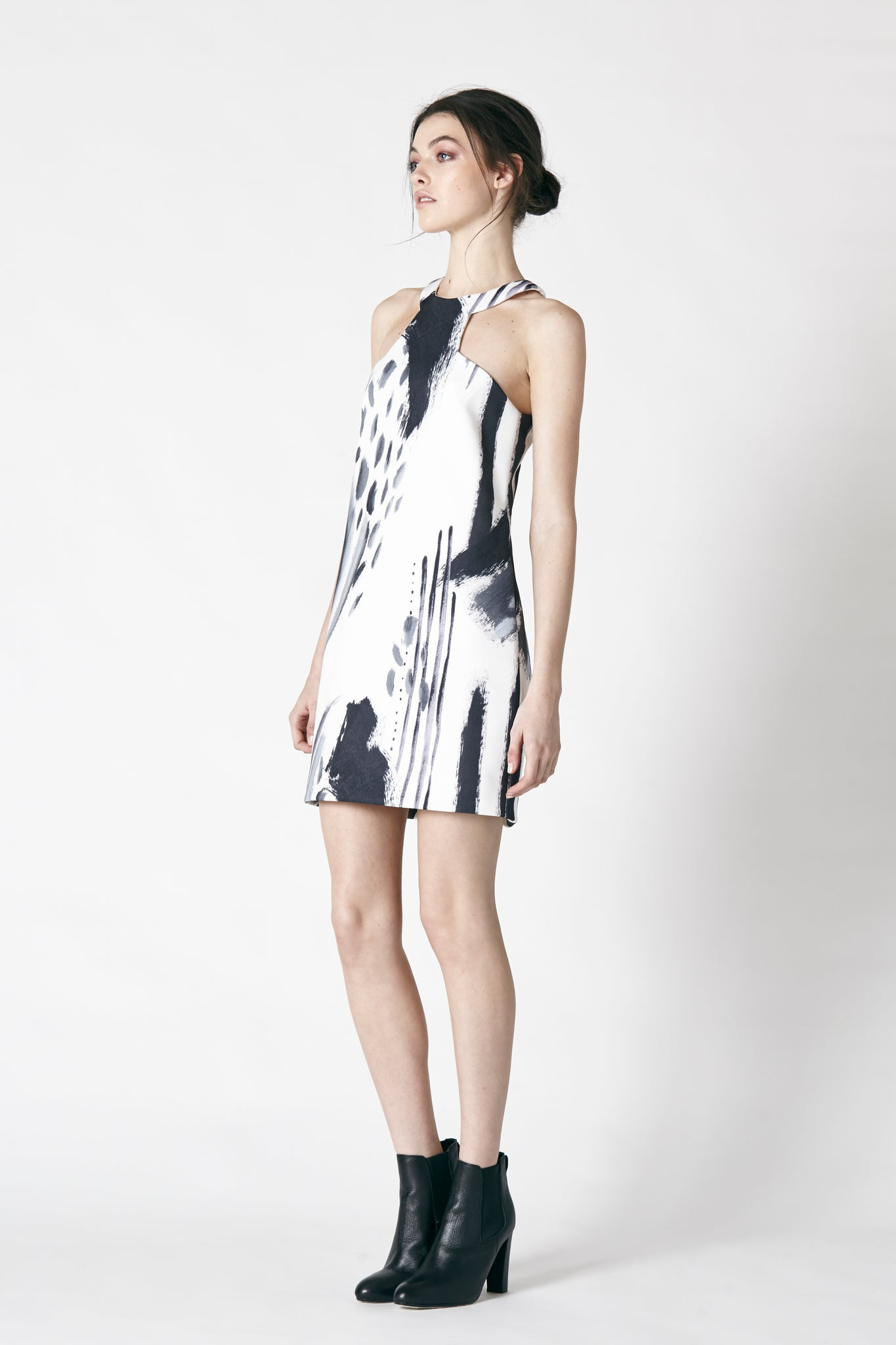 DRIFT MINI DRESS - PRINT