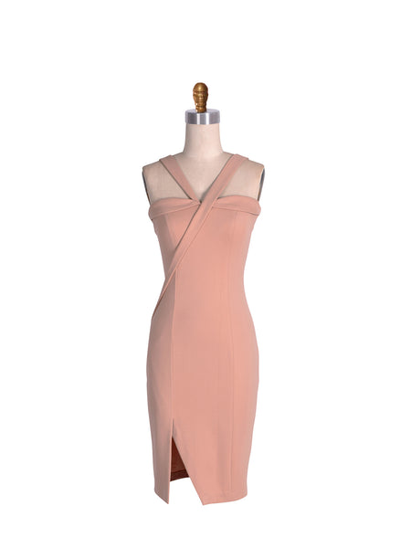 Angelina Dress - Hazelnut