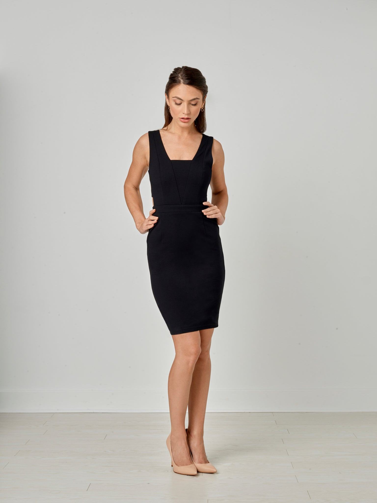 Fiona Dress - Black