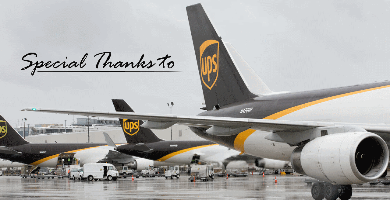 UPS Air Freight Playing Cards to Buyworthy
