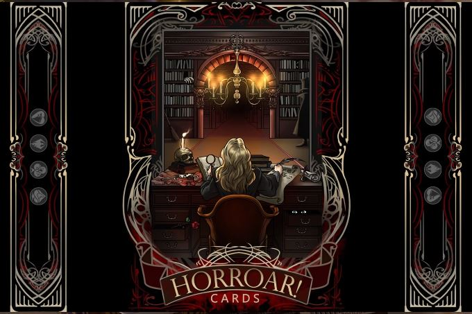 HorROAR Playing Cards at Buyworthy