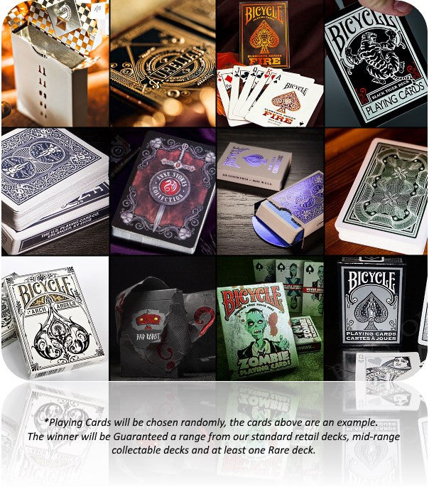 Win Playing Cards for a year from Buyworthy