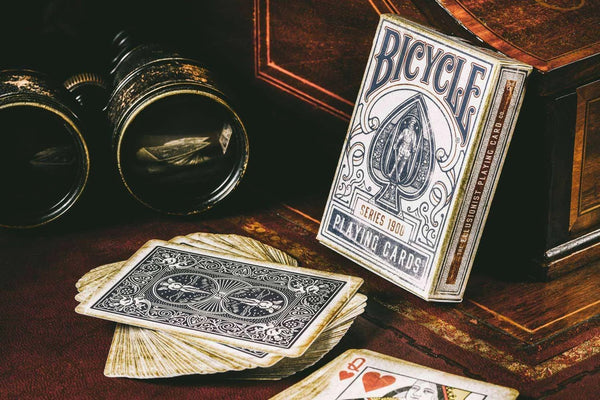 1900 Series Playing Cards Blue Edition by Ellusionist Marked Deck