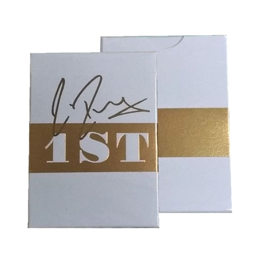 Rare 1st Playing Cards Gold Foiled Deck Personally Signed by Chris Ramsay