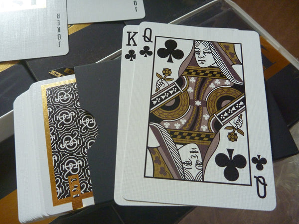 1st Playing Cards V2 Black Gold Foil Rare Personally Signed by Chris Ramsay