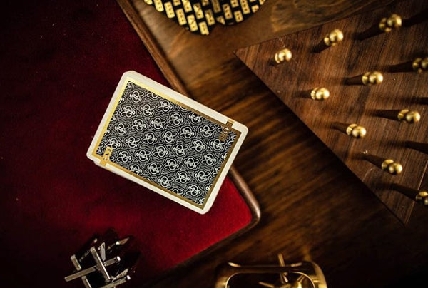 1st Playing Cards by Chris Ramsay V2 Black Edition Gold Foil