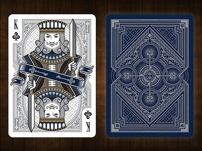 Buyworthy:Rare Spirit Blue Silver BICYCLE Premium Poker Playing Cards Deck Brand New