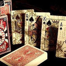 Buyworthy:Escape Map Playing Cards Premium Poker Deck Bicycle Brand New WWII Soldier Map