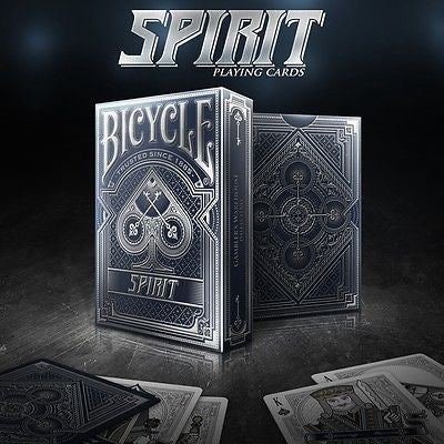 Rare Spirit Blue Silver BICYCLE Premium Poker Playing Cards Deck Brand New