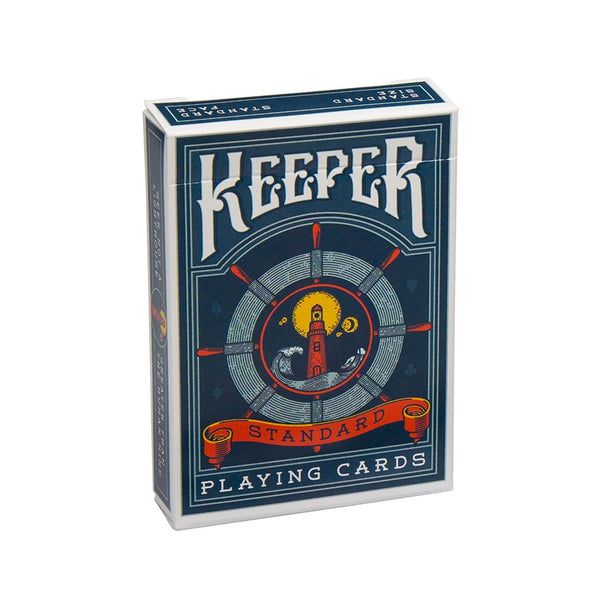 Keepers Playing Cards Ellusionist Lighthouse Deck Fisherman