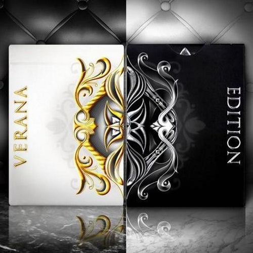 Verana Inverno Playing Cards Rare Summer Winter Editions Luxury 2-Decks Set