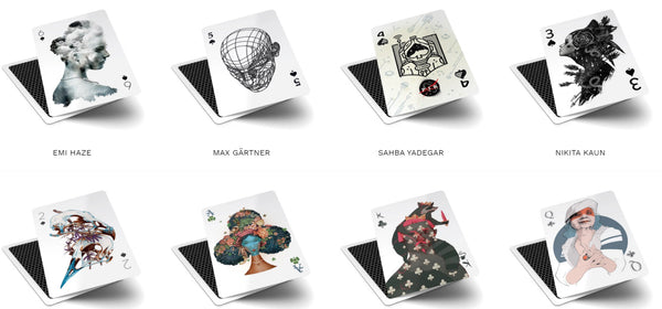 52 Aces Playing Cards Limited Edition Rare V3 Illustrations by individual Artists