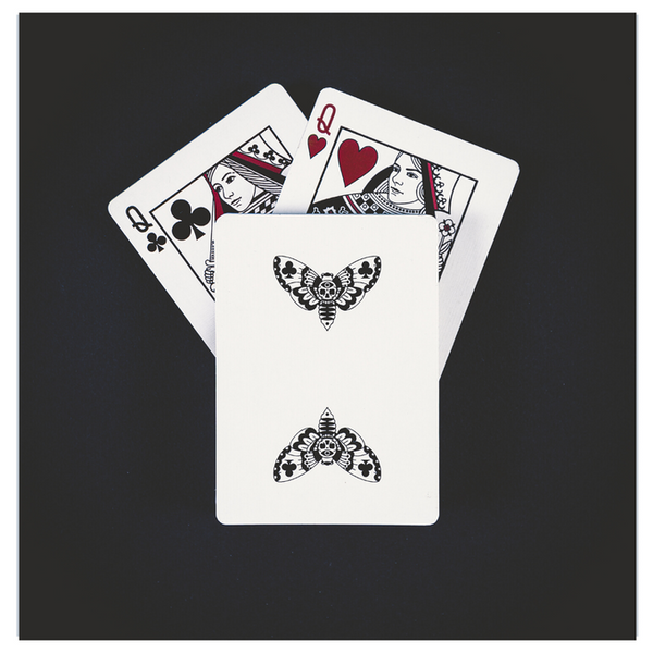 Warrior Playing Cards Full Moon White Edition by RJ