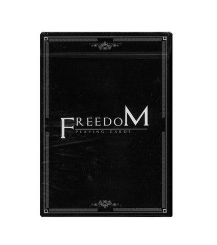 Freedom Playing Cards deck by Enliven Black Edition