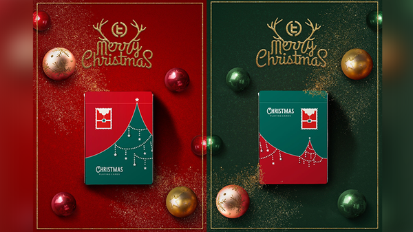 Christmas Playing Cards Set by TCC 2-Decks